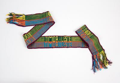 Woven cloth, East Timorese tais