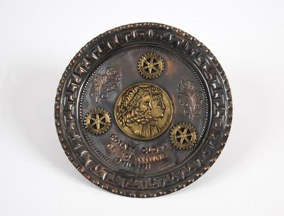 Platter, Rotary Club of Ioannina
