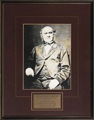 Captain Robert Gardiner