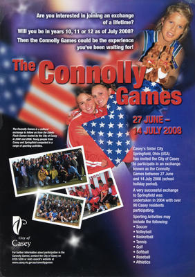 Poster, Connolly Games