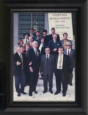 Photograph, City of Casey Council delegates to Ioannina, Greece with Greek counterparts