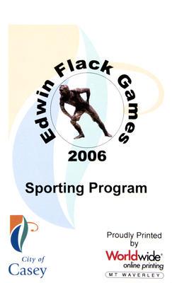 Program, Edwin Flack Games